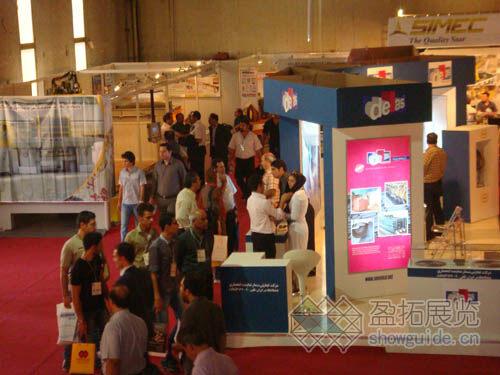2010年伊朗国际石材展览会展团报道